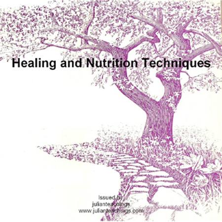 CD Cover Art for Healing and Nutrition