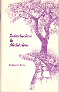Booklet: Meditation